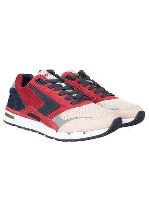 Brooks Heritage X Ubiq Fusion Shoe - Jester Red/Dark Navy Colour: Jest