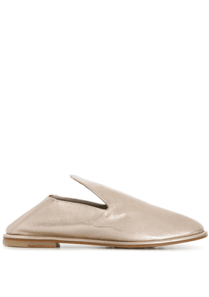 AGL low heeled loafers - Metallic