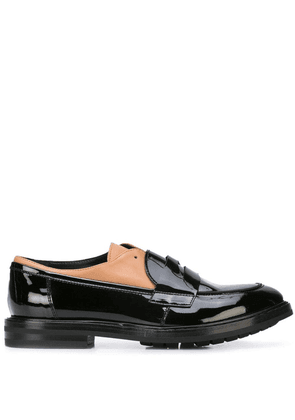 AGL strap detail loafers - Black