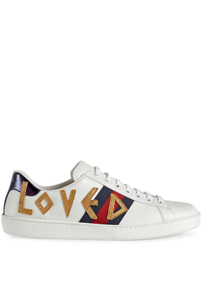 Gucci Ace embroidered sneaker - White