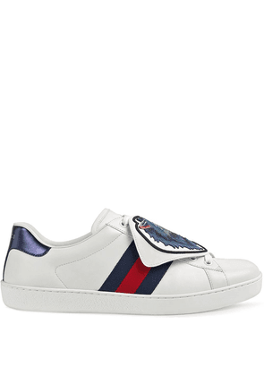 Gucci Ace sneakers with removable patches - White