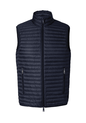 Armani Down Quilted Gilet Colour: Blue