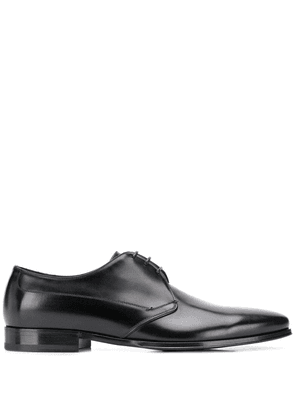 Dolce & Gabbana pointed derby shoes - Black