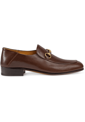 Gucci Horsebit leather loafers - Brown