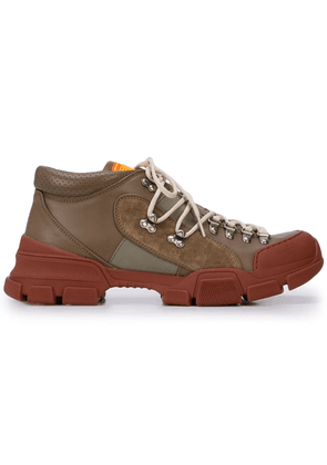 Gucci lace-up hiking sneakers - Brown