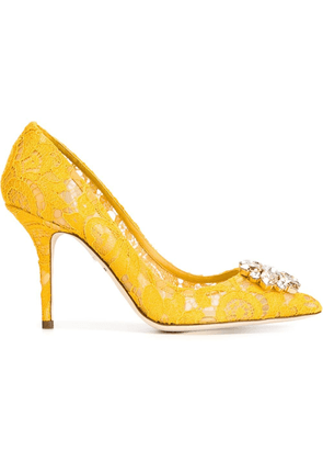 Dolce & Gabbana 'Belluci' pumps - Yellow