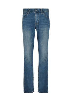 Armani Extra Slim Fit Comfort Jeans Colour: Mid Wash