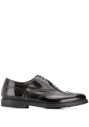 Fratelli Rossetti brogue detailing lace-up shoes - Brown