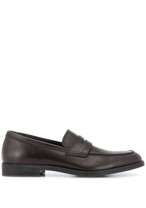 Fratelli Rossetti polished finish loafers - Brown