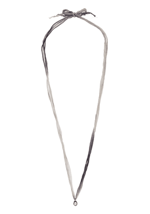Christian Koban Slice Diamond necklace - Grey