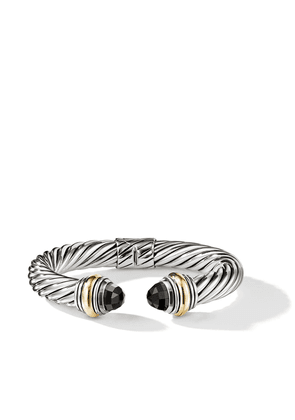 David Yurman Cable Classics 14kt yellow gold detailed and onyx 10mm