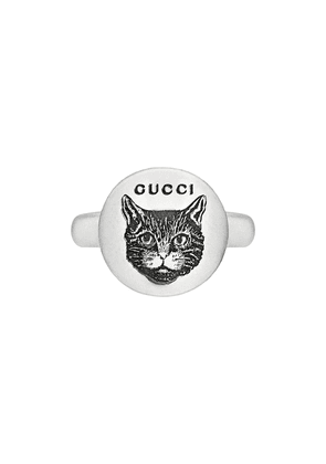 Gucci Blind for Love ring in silver