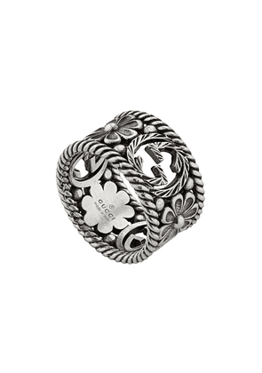 Gucci GG motif ring - Silver