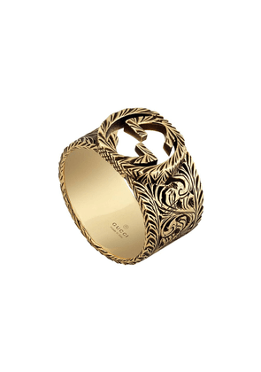 Gucci Yellow gold ring with Interlocking G - 0718
