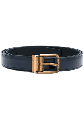 Dolce & Gabbana gold buckle belt - Blue