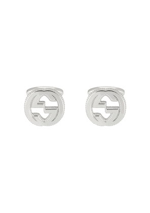 Gucci Interlocking G cufflinks in silver - Metallic