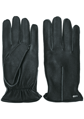 Dolce & Gabbana trim detail gloves - Black