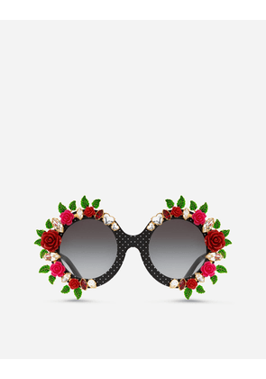 Dolce & Gabbana Sunglasses - CRAZY FOR SICILY SUNGLASSES BLACK