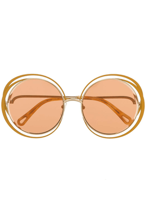 Chloé Eyewear carlina sunglasses - Yellow