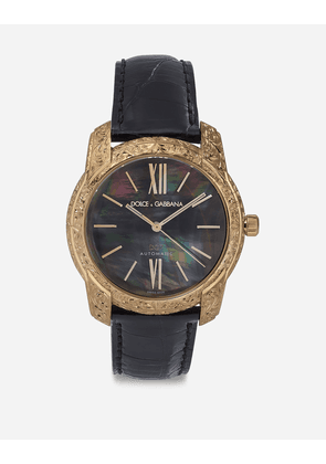 Dolce & Gabbana Watches - GOLD AND MOTHER-OF-PEARL WATCH BLACK
