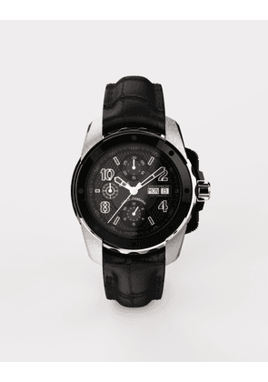 Dolce & Gabbana Watches - DS5 WATCH IN WHITE GOLD AND STEEL WITH PVD COATING BLACK