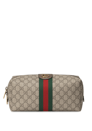 Gucci Ophidia GG wash bag - NEUTRALS
