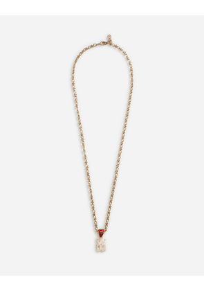 Dolce & Gabbana Bijoux - NECKLACE WITH PENDANT GOLD