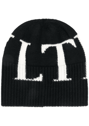 Valentino VLTN knitted hat - Black