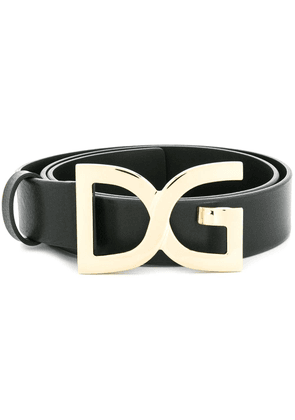 Dolce & Gabbana DG buckle belt - Black