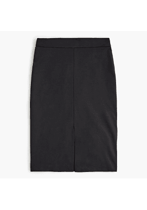 Petite A-line pencil skirt in eco ponte