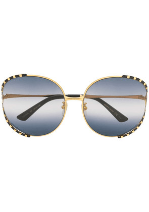 Gucci oversized sunglasses - Gold
