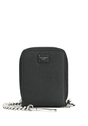 Dolce & Gabbana wallet with chain - Black