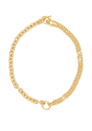 All Blues - Double-chain Gold-vermeil Necklace - Womens - Gold