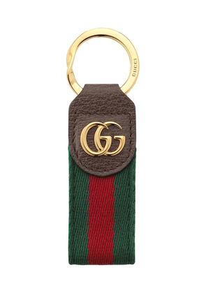 Gucci Ophidia key ring - Brown