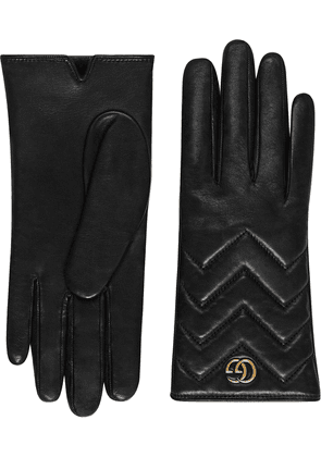 Gucci GG Marmont gloves - Black
