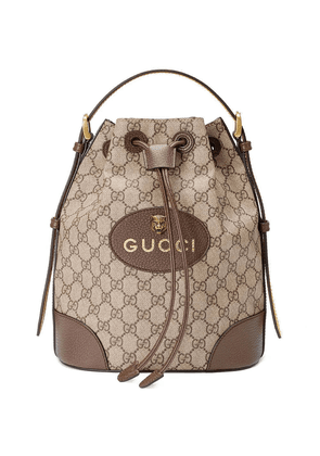 Gucci GG Supreme backpack - Brown