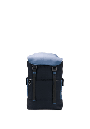 Bottega Veneta Hi-tech canvas backpack - Blue