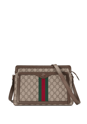 Gucci GG Supreme medium shoulder bag - NEUTRALS