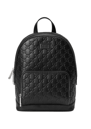 Gucci Gucci Signature leather backpack - 1000 BLACK