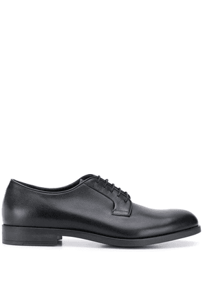 Fratelli Rossetti textured lace-up shoes - Black