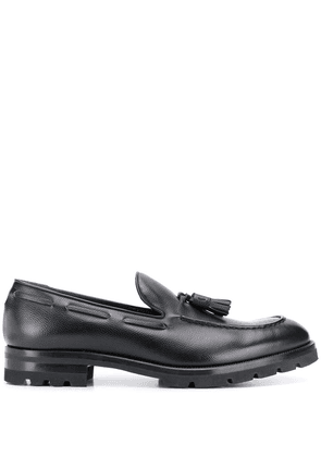 Fratelli Rossetti textured loafers - Black