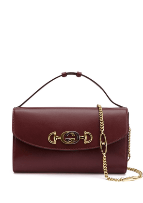 Gucci GG Horsebit crossbody - Red