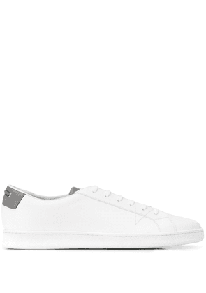 Car Shoe Smooth lace- up sneakers - White