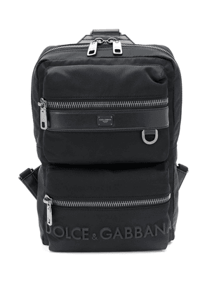 Dolce & Gabbana logo backpack - Black