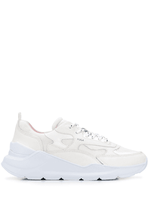 D.A.T.E. Fuga mesh panelled sneakers - White