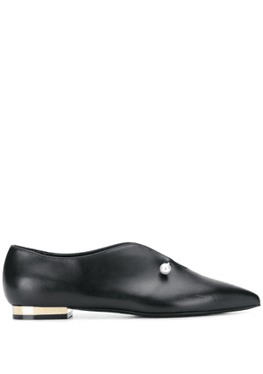 Coliac pearl-embellished ballerinas - Black
