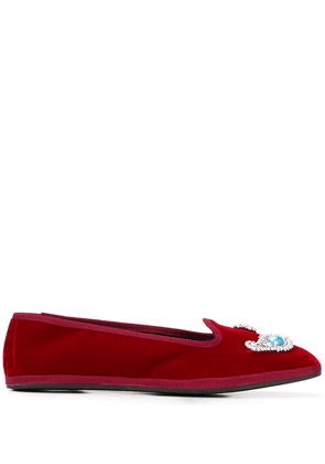 Giannico Ventian slippers - ROSSO