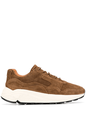 Buttero lace-up low-top sneakers - Brown