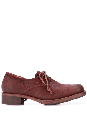 Cherevichkiotvichki distressed lace-up shoes - Red
