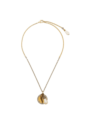 Dolce & Gabbana multi charm pendant necklace - Gold